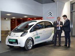 La Citroën C-Zéro en location courte durée chez National/Citer