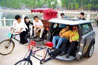 JO 2008: Mini pousse-pousse en Chine!