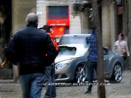 Future Bentley Continental GT : à nouveau surprise