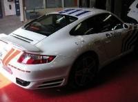"""Une Porsche 911 Turbo """"911""""... pour la Police Fédérale"""