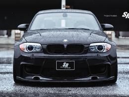 BMW Serie 1 M SR Auto Group. Noir c'est noir.