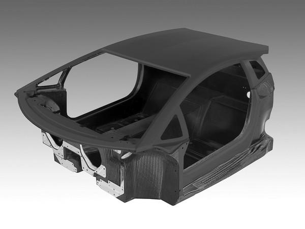 Genève 2011 : Lamborghini dévoile la cellule carbone de la LP700-4