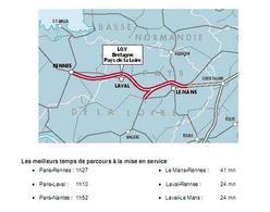 D'autres infos sur la Ligne grande vitesse Bretagne-Pays de la Loire