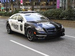 Mercedes : une brigade en CLS 63 AMG police pour arrêter les gens trop bien habillés dans New-York