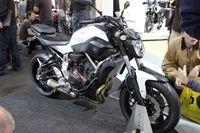 En direct du Salon de Milan - Yamaha MT-07