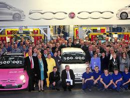 Fiat 500 : la 500 000ème est sortie de l'usine