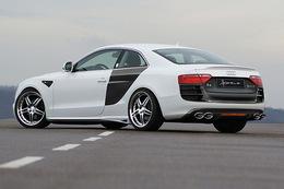Audi A5 R8 Look par Hofele Design : une A5 à sideblades