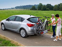 Salon de Francfort 2009 : la nouvelle Opel Astra avec porte-vélos