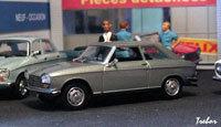 Miniature : 1/43ème - PEUGEOT 204 coupé