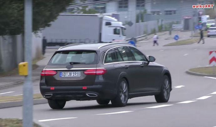 Scoop : derniers réglages pour le break surélevé Mercedes Classe E All Terrain