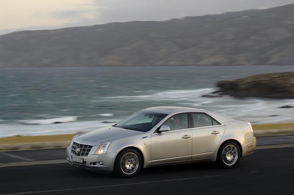 Prise de contact avec la Cadillac CTS 4WD : prometteuse.