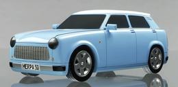 Salon de Francfort 2009 : un prototype de Trabant électrique !