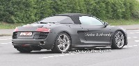 Audi R8 Spider: elle se montre enfin!