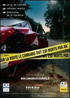 Sécurité routière : Michelle Alliot-Marie présente des tests salivaires anti-drogue
