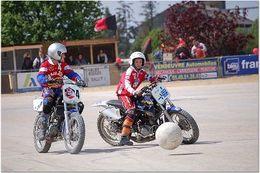 La compétition Moto Ball : un projet de motos électriques