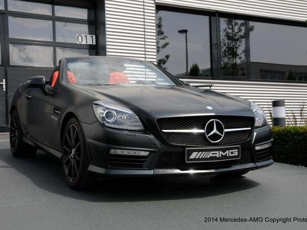 AMG Performance Studio présente une Mercedes SLK 55 AMG unique