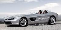 McLaren Mercedes SLR Speedster: ou bien comme cela...