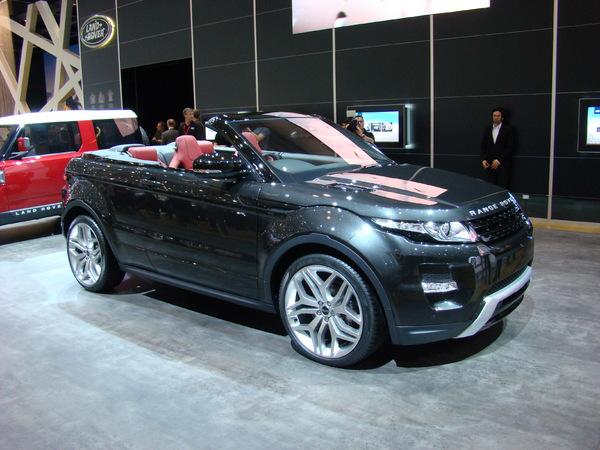 Land Rover bien parti pour produire l'Evoque cabriolet