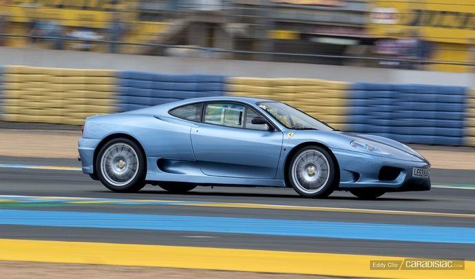 Photos du jour : Ferrari 360 Challenge Stradale (Le Mans Classic)
