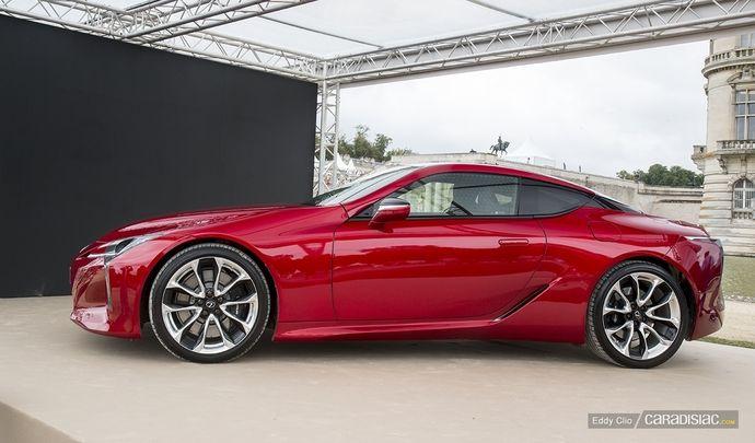 Photos du jour : Lexus LC 500 (Concours d'Elegance de Chantilly)