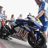 Moto GP 2008: Yamaha trace sa ligne de démarcation