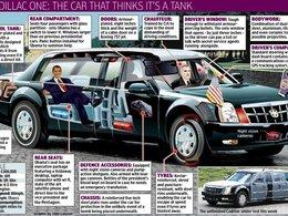 Le président américain veut circuler en Cadillac hybride mais c'est impossible