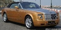 Un peu d'or pour cette Rolls Royce