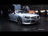 En direct du salon de Genève 2012 - La vidéo de la Mercedes SL
