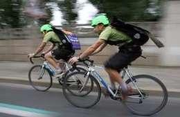 Des produits bio livrés à vélo !