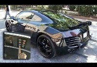 [Vidéo] Audi R8 Blackbird: gadgets à gogo!
