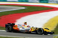 F1 : bilan de l'écurie ING Renault à Sepang