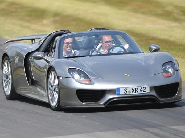 Goodwood 2013 : première sortie publique de la Porsche 918 Spyder