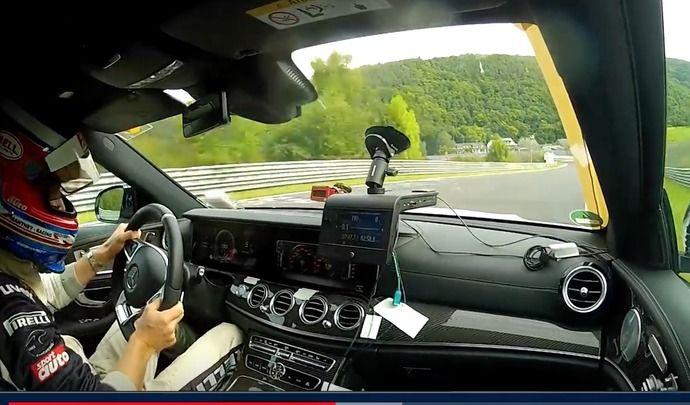 La Mercedes E63 AMG devient le break le plus rapide du Nürburgring