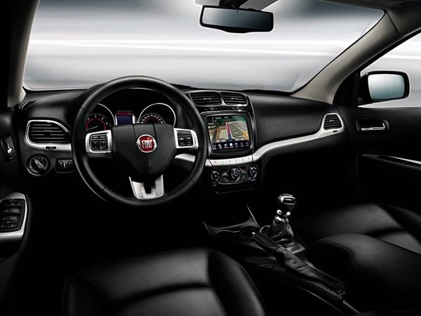 Genève 2011 : à l'intérieur du Fiat Freemont