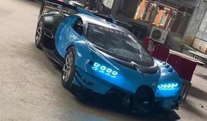 Il construit une fausse Bugatti Vision Gran Turismo