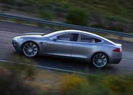 Des photos officielles de la Tesla Model S électrique