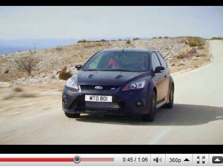 Ford Focus RS500 : la vidéo molle