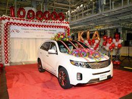 Kia : déjà un million de véhicules produits aux USA