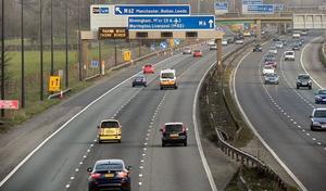 Les Anglais vont tester le feu rouge sur autoroute
