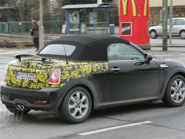 Spyshot : le Mini Roadster également de sortie