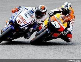 Moto GP - Espagne: Pedrosa a aussi sorti la tête de l'eau