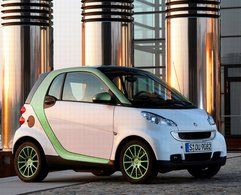 Salon de Francfort 2009 : la Smart Fortwo electric drive