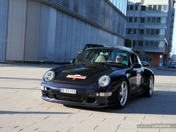 Photos du jour : Porsche 911 993 Turbo S (Rallye Germania 2012)