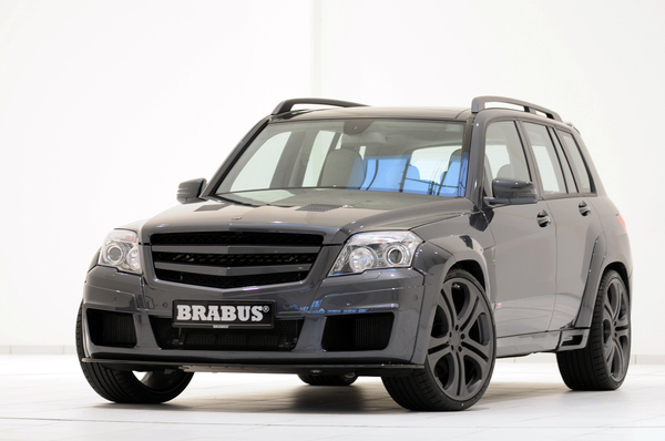 brabus glk v12 322 3 km h pour le suv grande vitesse. Black Bedroom Furniture Sets. Home Design Ideas