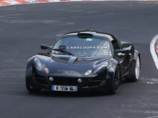 Voici la future Alpine! Merci Lotus...