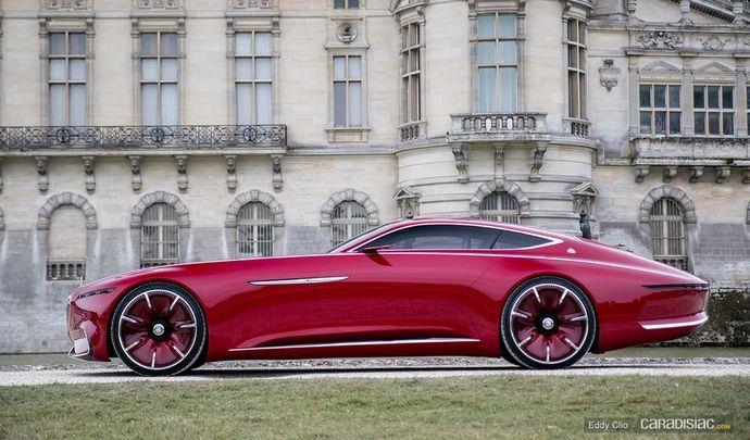 Photos du jour : Vision Mercedes Maybach 6 (Concours d'Elegance de Chantilly)