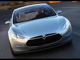 Salon de Francfort 2009 : la Tesla Model S électrique