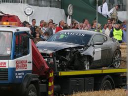 Top 6 des crashs du Festival of Speed de Goodwood
