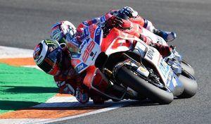MotoGP – Valence J.3 Lorenzo: «j'ai vu sept ou huit fois ce message»