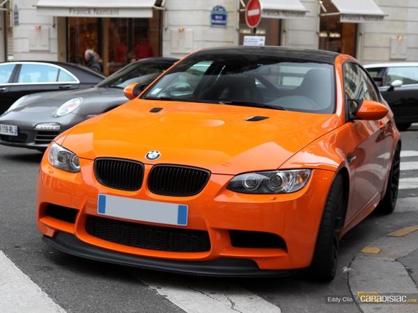 Photos du jour : BMW M3 GTS